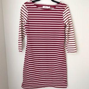 Vineyard Vines 3/4 Sleeve Striped Dress - size XXS